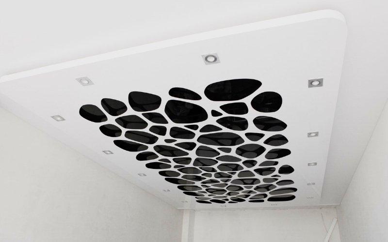 натяжный потолки фото