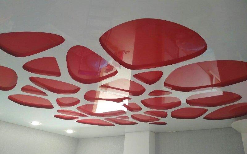 перфорированные натяжной потолок